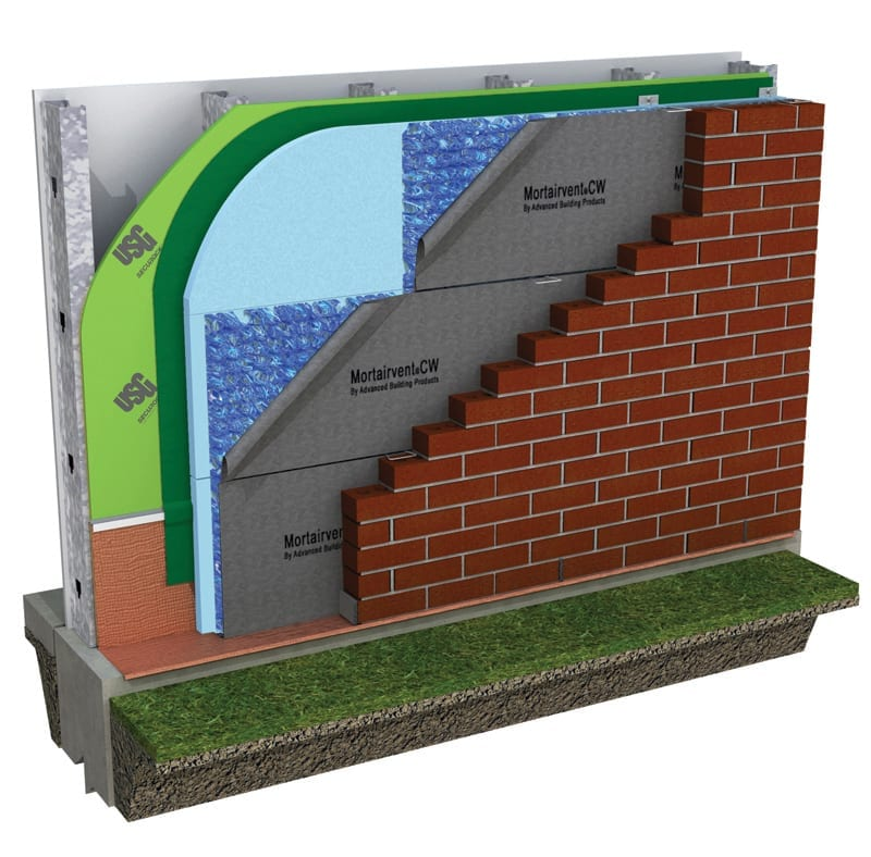 Mortairvent® Rainscreen System CW